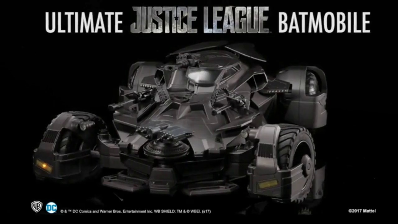 Justice League Ultimate Batmobile
