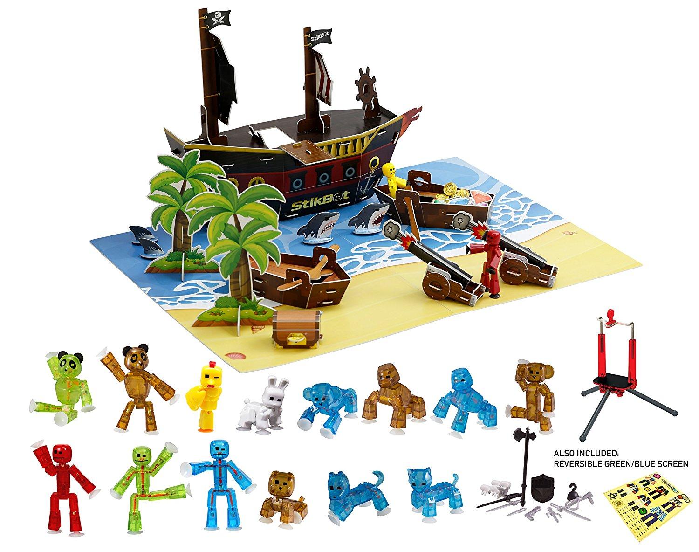 StikBot Stop Motion Pirate Movie Set
